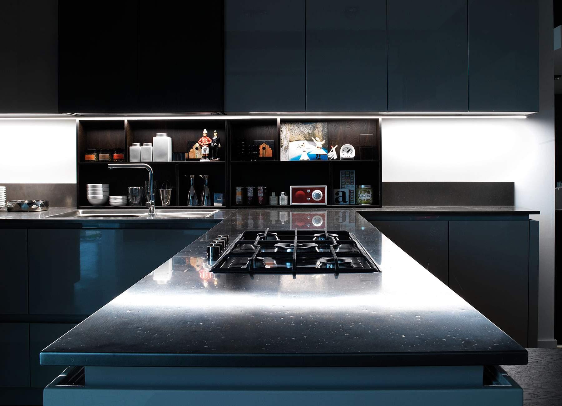 cheap top per cucine al quarzo top al quarzo per cucine top per with mobili da cucina profondit 50 cm